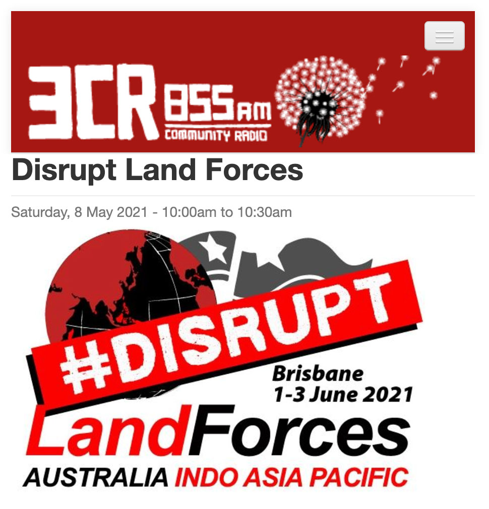 3CR Disrupt Land Forces May 8