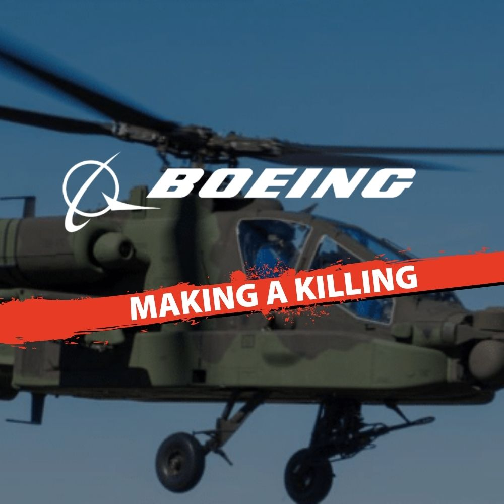 Boeing Making a killing with Apache helicopters