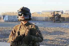 Elbit Helmet on US soldier
