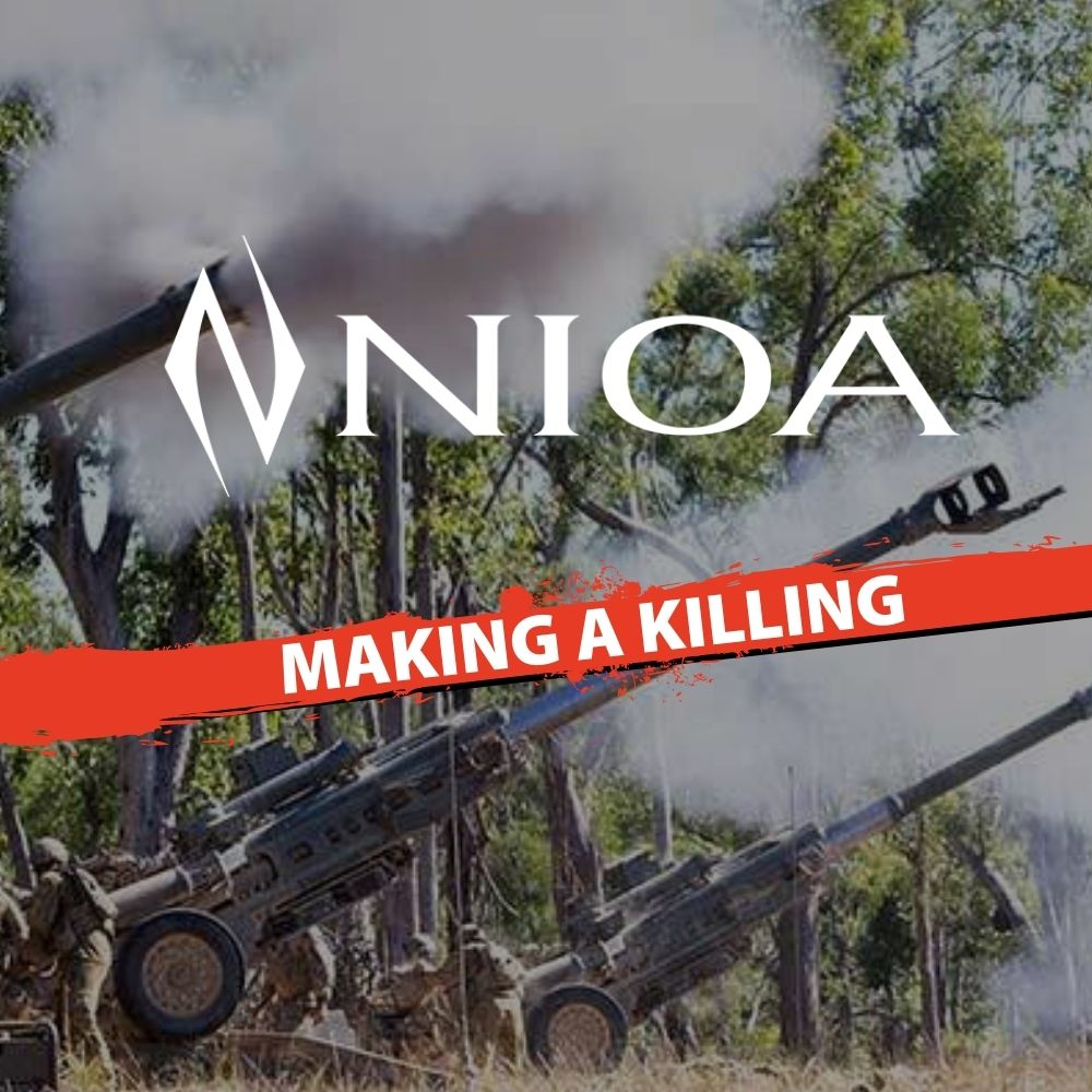 NIOA making a killing