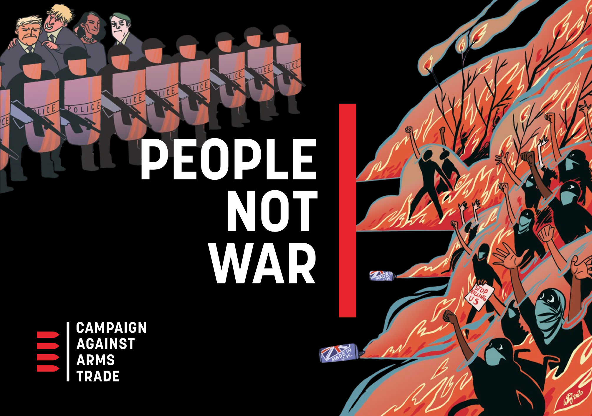 People not war by CAAT - full cover