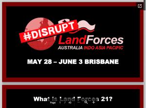 Disrupt LandForces slideshow