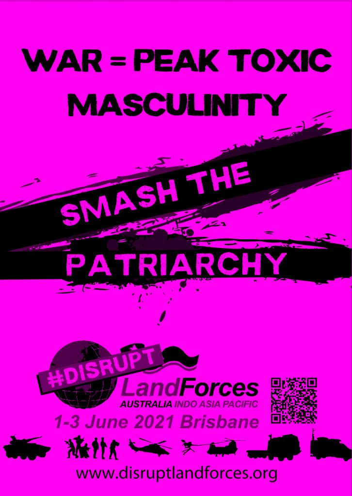 War is Toxic masculinity poster