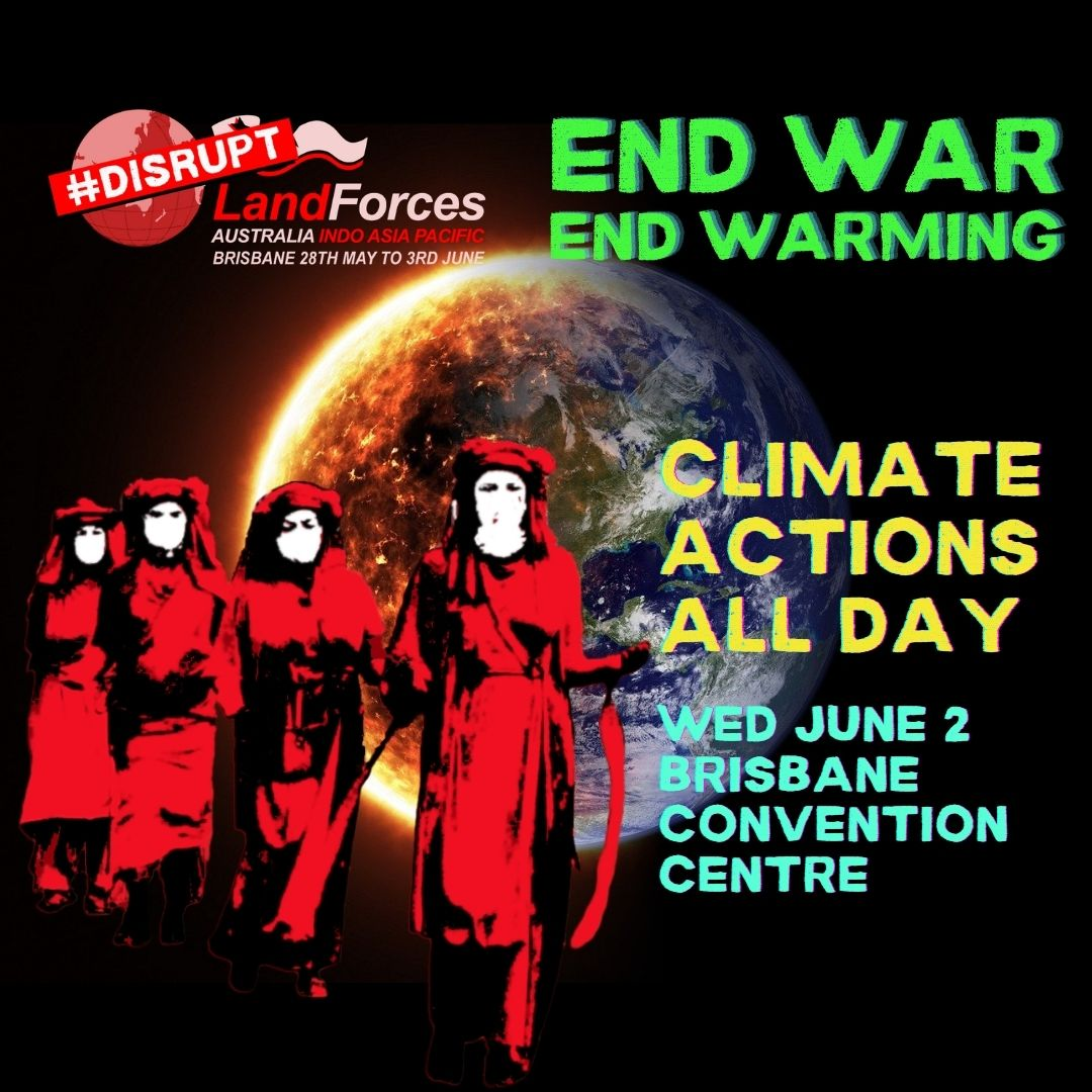 End War - End Warming - Climate action day