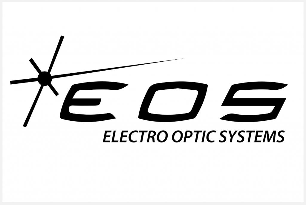 EOS - Electro Optic Systems logo placard