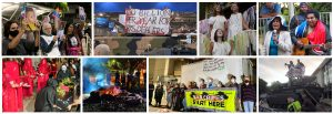 We Disrupted Land Forces with a Festival of Resistance
